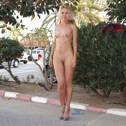 Parking Lot Nudity - Blonde Hair, Exposed In Public, Full Nude, Heels, Naked Outdoors, Nipples, Nude In Public, Shaved Pussy, Hairless Pussy, Hot Girl, Naked Girl, Sexy Body, Sexy Face, Sexy Feet, Sexy Figure, Sexy Girl