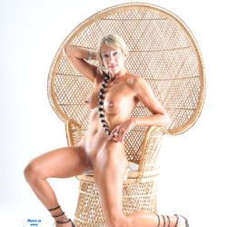 Blonde In A Native Chair - Big Tits, Blonde Hair, Erect Nipples, Firm Tits, Full Nude, Heels, Nipples, Perfect Tits, Shaved Pussy, Showing Tits, Hairless Pussy, Hot Girl, Naked Girl, Sexy Body, Sexy Boobs, Sexy Face, Sexy Feet, Sexy Figure, Sexy Girl, Sexy Legs, Sexy Lingerie