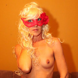 Topless Masked Blonde Girl  - Artistic Nude, Blonde Hair, Firm Tits, Hard Nipple, Heels, Nipples, Perfect Tits, Showing Tits, Topless Girl, Topless, Hot Girl, Sexy Body, Sexy Face, Sexy Figure, Sexy Girl, Sexy Legs, Sexy Panties, Young Woman