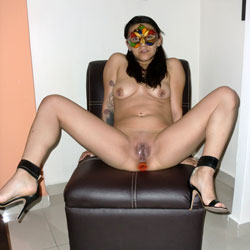 Hottest Brunette On Chair - Artistic Nude, Brunette Hair, Hanging Tits, Heels, Masturbation, Nipples, No Panties, Pierced Nipples, Pussy Lips, Shaved Pussy, Showing Tits, Spread Legs, Hairless Pussy, Hot Girl, Naked Girl, Sexy Body, Sexy Boobs, Sexy Face, Sexy Feet, Sexy Girl, Sexy Legs, Toys