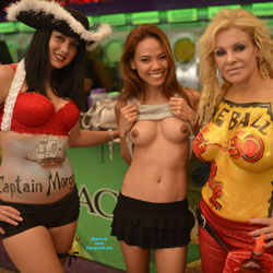 Big Tits At Fantasy Fest - Artistic Nude, Big Tits, Exposed In Public, Firm Tits, Girls, Hanging Tits, Huge Tits, Large Breasts, Nude In Public, Nude Outdoors, Perfect Tits, Showing Tits, Topless Girl, Topless Outdoors, Topless, Hot Girl, Sexy Body, Sexy Boobs, Sexy Face, Sexy Figure