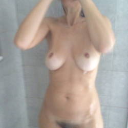 Large tits of my wife - 38dd