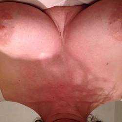 Small tits of my wife - Peggy