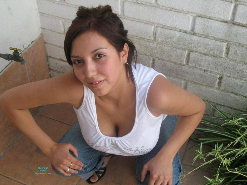 Amateur big tits brunette webcam xxx bj 9