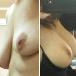 Small tits of my wife - mrs jmpride76