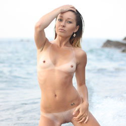 Kneeling And Naked At The Beach Water - Brunette Hair, Exposed In Public, Firm Tits, Full Nude, Hard Nipple, Naked Outdoors, Nipples, Nude Beach, Nude In Nature, Nude In Public, Shaved Pussy, Small Tits, Spread Legs, Water, Wet, Beach Pussy, Beach Tits, Beach Voyeur, Hairless Pussy, Hot Girl, Naked Girl, Sexy Body, Sexy Face, Sexy Figure, Sexy Girl, Sexy Legs, Teens, Young Woman