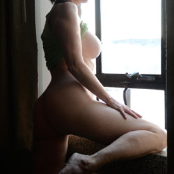 Bent Over At The Window - Bent Over