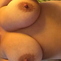 Very large tits of my wife - wifey