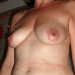 Large tits of my girlfriend - girl