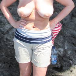 Large tits of my wife - joanna