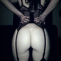My wife's ass - buns