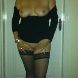 Large tits of my wife - Louise