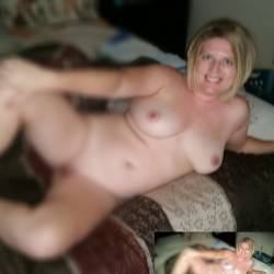 Large tits of my wife - Melissa barefoot
