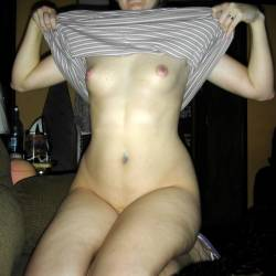 Small tits of my wife - Nicole