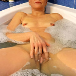 Wet And Wild Bathing - Close Up, Full Nude, Indoors, Nipples, Pussy Lips, Shaved Pussy, Spread Legs, Wet, Hairless Pussy, Naked Girl, Sexy Body, Sexy Face, Sexy Figure, Sexy Girl, Sexy Legs