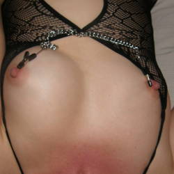 Small tits of my wife - Ursula