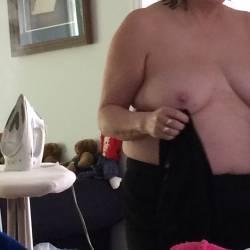 Medium tits of my wife - kimberly