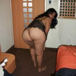 My girlfriend's ass - mi novia