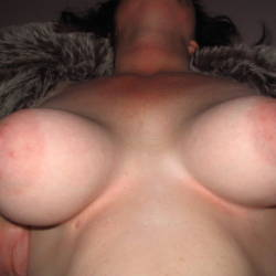 Large tits of my wife - sue from uk