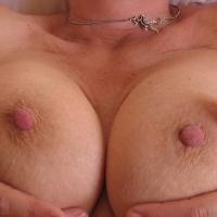 Large tits of my girlfriend - Jane