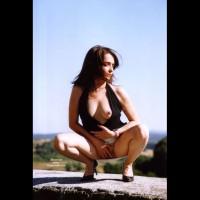 Boob Slip - Hard Nipple, Nude Outdoors, Spread Legs, Naked Girl, Nude Amateur