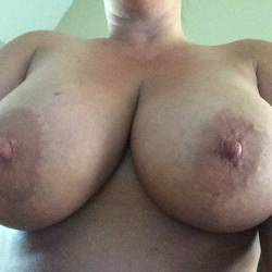 Large tits of my wife - Layla