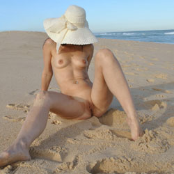 Arousing Brunette At The Beach Wearing Hat - Brunette Hair, Erect Nipples, Full Nude, Natural Tits, Nipples, Nude Beach, Perfect Tits, Pussy Lips, Shaved Pussy, Small Tits, Beach Pussy, Beach Tits, Beach Voyeur, Hairless Pussy, Hot Girl, Naked Girl, Sexy Ass, Sexy Girl, Sexy Legs