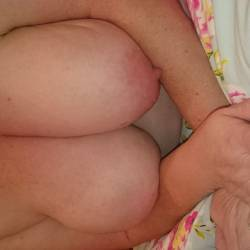 Very large tits of my wife - My eife