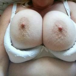 Very large tits of my girlfriend - claire