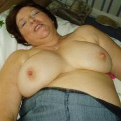 Very large tits of my wife - Vicki Hill