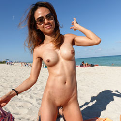 Naked Asian At The Beach Wearing Sunglasses - Asian Girl, Big Tits, Erect Nipples, Firm Tits, Hard Nipple, Naked Outdoors, Nipples, Nude In Public, Shaved Pussy, Beach Pussy, Beach Tits, Beach Voyeur, Sexy Body, Sexy Boobs, Sexy Girl, Sexy Legs