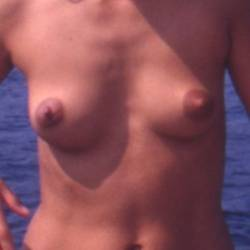 Very small tits of my ex-wife - italian view