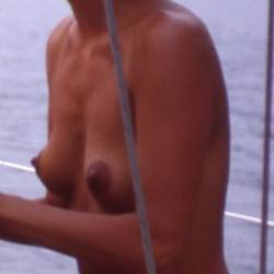 Very small tits of my ex-wife - Chantal