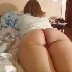 My girlfriend's ass - lizzie