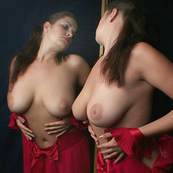 Big Tits And Red Dress - Big Tits, Brunette Hair, Flashing Tits, Flashing, Perfect Tits, Showing Tits, Sexy Body, Sexy Boobs, Sexy Figure, Dressed