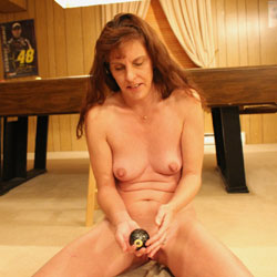 Naked Wife Playing Pool Ball - Brunette Hair, Indoors, Nipples, Pussy Lips, Shaved Pussy, Hot Wife, Nude Wife, Sexy Body, Sexy Girl, Sexy Legs, Wife Pussy, Face Sitting