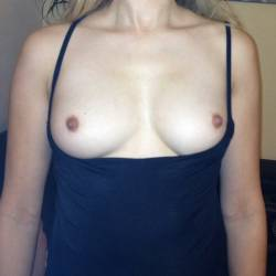 Small tits of my wife - Marie Chris