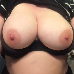 Large tits of my wife - Molly