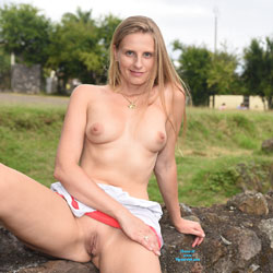 Blonde Showing Pussy Lips In Public - Big Tits, Blonde Hair, Erect Nipples, Exposed In Public, Nipples, Nude In Public, Perfect Tits, Pussy Lips, Shaved Pussy, Sexy Body, Sexy Boobs, Sexy Girl, Sexy Legs