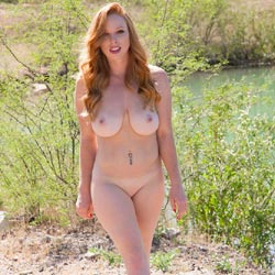 Naughty Redhead Naked Outdoor - Big Tits, Nipples, Nude In Nature, Nude In Public, Nude Outdoors, Perfect Tits, Redhead, Shaved Pussy, Hairless Pussy, Naked Girl, Sexy Body, Sexy Boobs, Sexy Figure, Sexy Legs
