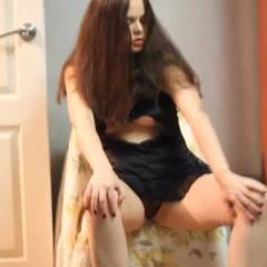 Adriana - Big Tits, Brunette, Lingerie, Striptease