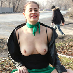 Nude And Sexy Viko In Public - Big Tits, Boots, Brunette Hair, Exposed In Public, Flashing Tits, Flashing, Nipples, Nude In Public, Pussy Lips, Shaved Pussy, Hairless Pussy, Sexy Body, Sexy Boobs, Sexy Girl, Sexy Legs, Wife/Wives