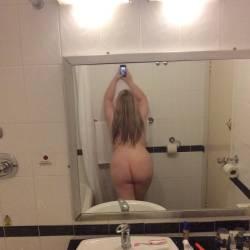 My wife's ass - sharronuk