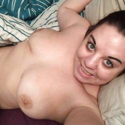 Large tits of a co-worker - Leah