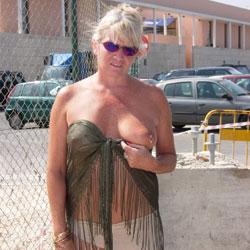 Flashing At A Bar - See Through, Public Place, Flashing, Public Exhibitionist, Big Tits, Flashing Tits