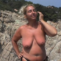 Titty Shows Off