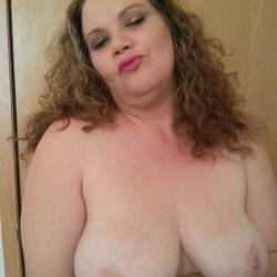 Large tits of my girlfriend - Christy