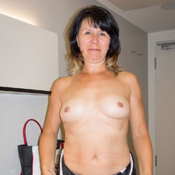 Topless Mature Milf - Brunette Hair, Firm Tits, Milf, Perfect Tits, Strip, Topless Girl, Topless, Wife/Wives
