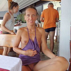 Mimice Nude in Public - Erect Nipples, Exposed In Public, Flashing, Nipples, Nude In Public, Nude Outdoors, Shaved Pussy, Small Tits, Sexy Ass, Sexy Legs