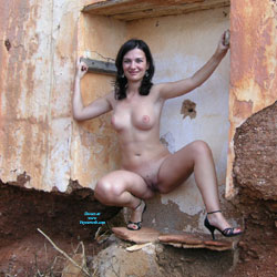 Naked Brunette Wearing Heels Outdoor - Big Tits, Brunette Hair, Firm Tits, Heels, Naked Outdoors, Nipples, Nude Outdoors, Perfect Tits, Showing Tits, Spread Legs, Hairless Pussy, Hot Girl, Naked Girl, Sexy Boobs, Sexy Girl, Sexy Legs, Amateur
